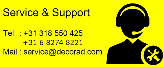 Decorad support